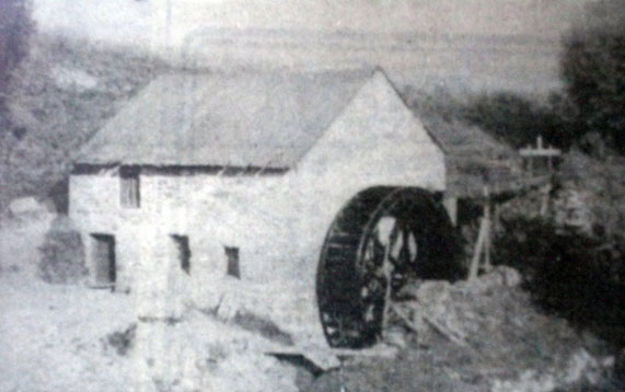 Old Flax Mill in Glashygolgan